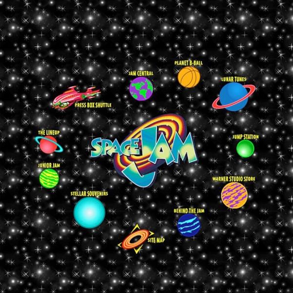 所有对《惊奇队长》90年代风格网站的迷恋,都来自对《空中大灌篮》网页的遗忘