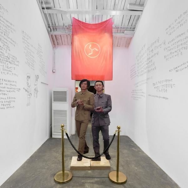 彭磊认为庞宽的画属于剥削艺术,庞宽则认为彭磊特别有才华