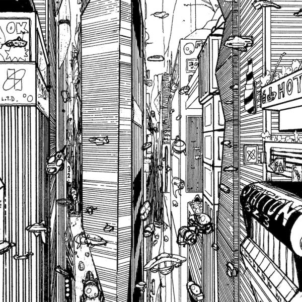 特别呈现 | 黑白城 LA CITÉ—— Stéphane BALAGNA 漫画手稿展