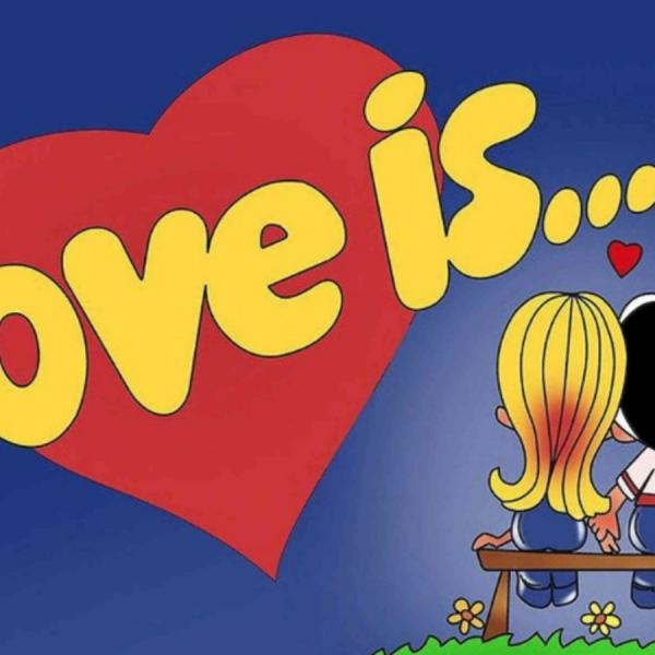 """""""Love is..."""" 泡泡糖赠送的画纸,是一场49年的情人梦"""
