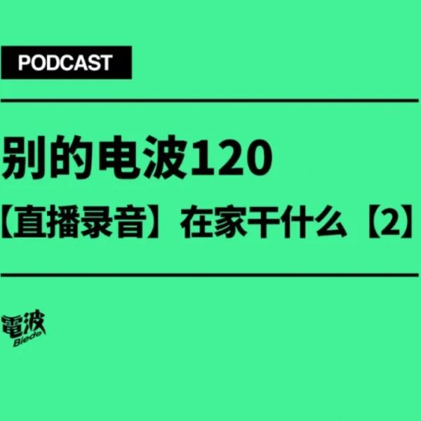 别的电波 Vol.120 |【直播录音】在家干什么?【2】