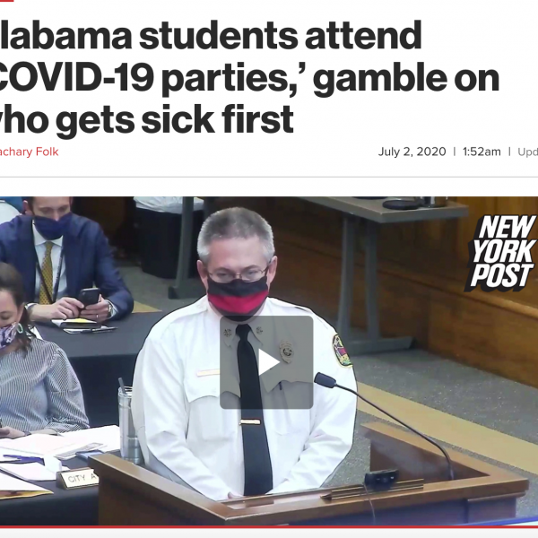 别的简报|大学生举办新冠派对的新闻毫无根据,纯属谣传