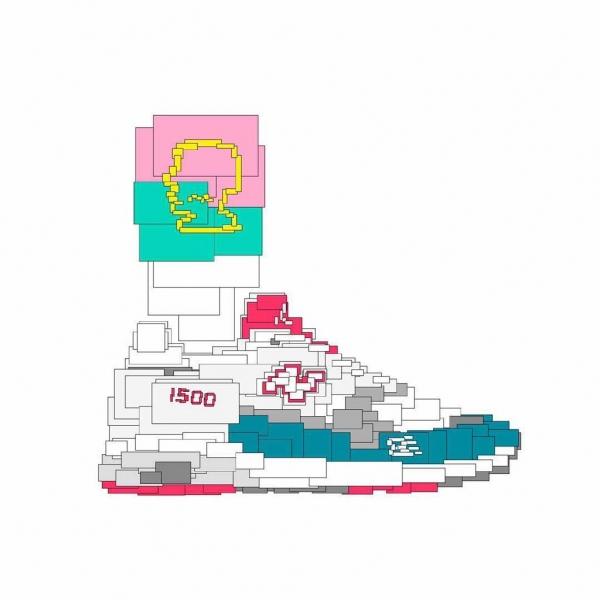 只用矩形画鞋子的@手凉心软说他愿意给你的鞋也画一张