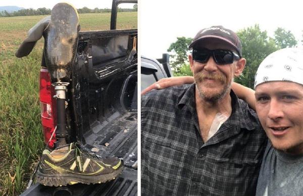 别的简报|佛蒙特州一农民找到并归还了跳伞员跳伞时不小心掉了的假腿
