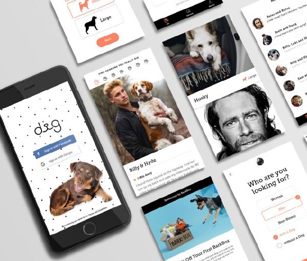 别的简报|这款新社交软件只将你和喜欢狗的人配对