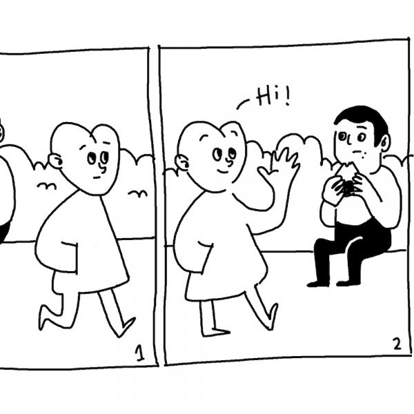 交个朋友 | OhhhMyDeer 用漫画《相反的人》抵抗日常的平庸