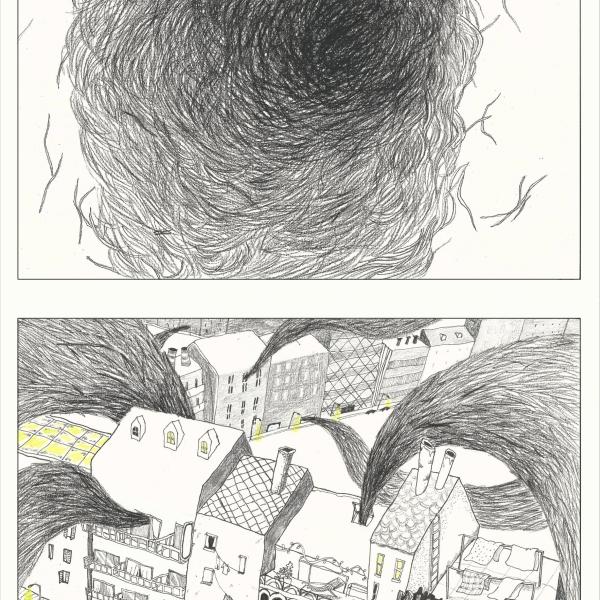 交个朋友 | 荔枝画了一个关于头发复仇的故事《Hair》
