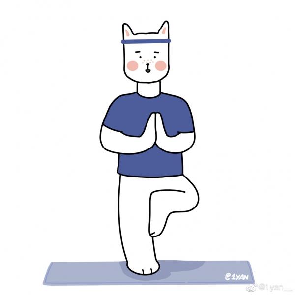 放声计划 | 1yan__ 关于 inner peace 的小插画