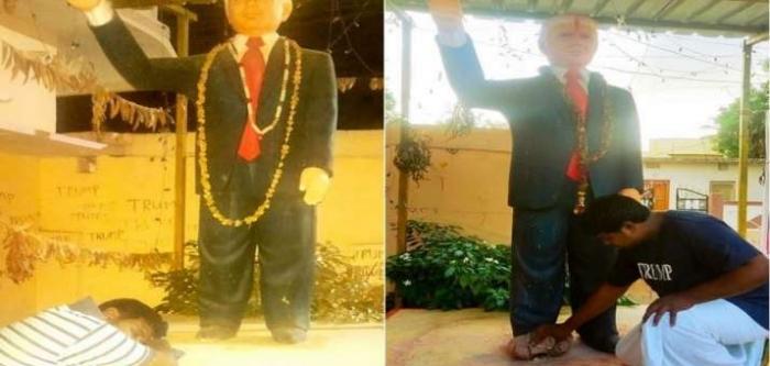 别的简报丨印度一男子绝食祈祷特朗普康复,最终死于心脏病