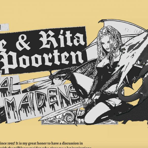 这个朋友做了一个聚焦女性地下重金属乐手的在线杂志