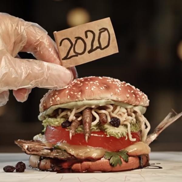 别的简报 | 巴西汉堡王制作了一款2020印象汉堡