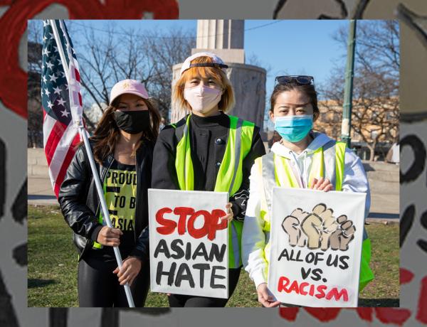 枪击之后,我在芝加哥组织了第一场反亚裔仇恨大游行