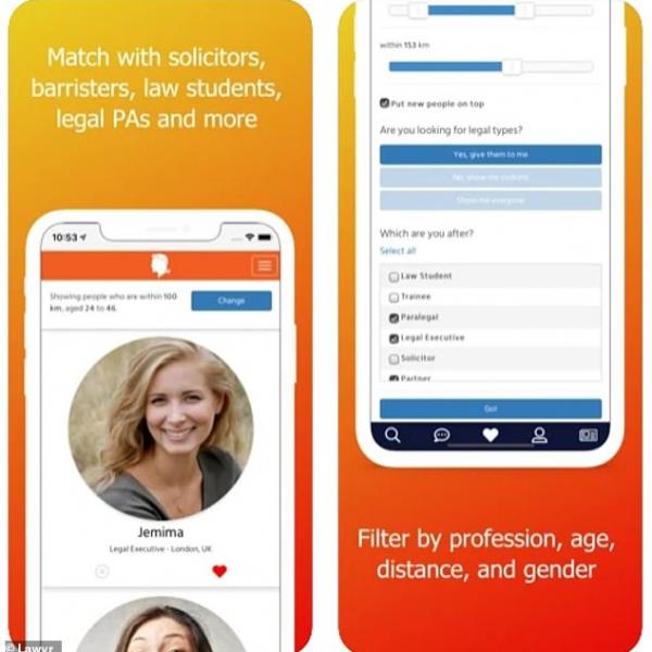 别的简报|Lawyr:一款专门为律师群体定制的约会 app