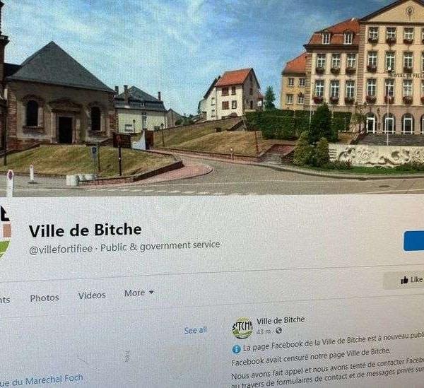 别的简报 | Facebook 算法屏蔽了法国一个名为 Bitche 的小镇